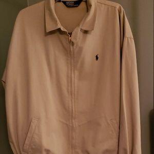 Polo by Ralph Lauren Khaki Bomber Jacket